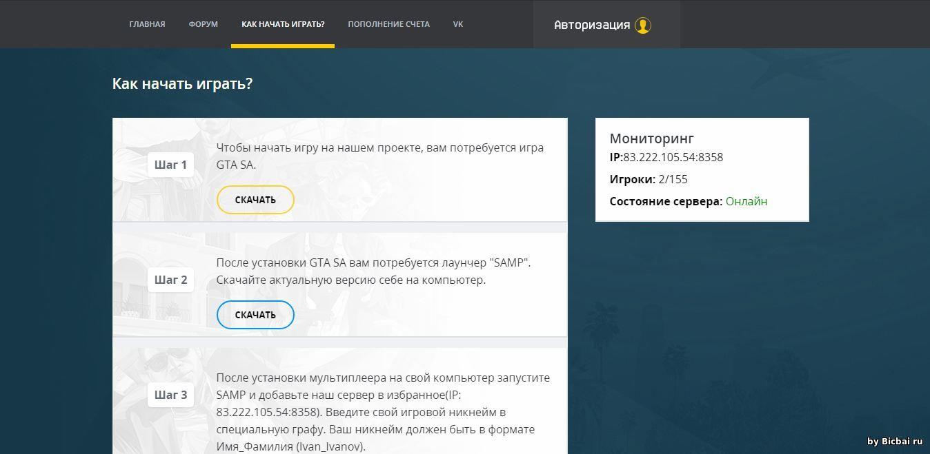 Как сделать донат через сайт для пользователей самп готовый сервер v59 для css скачать торрент